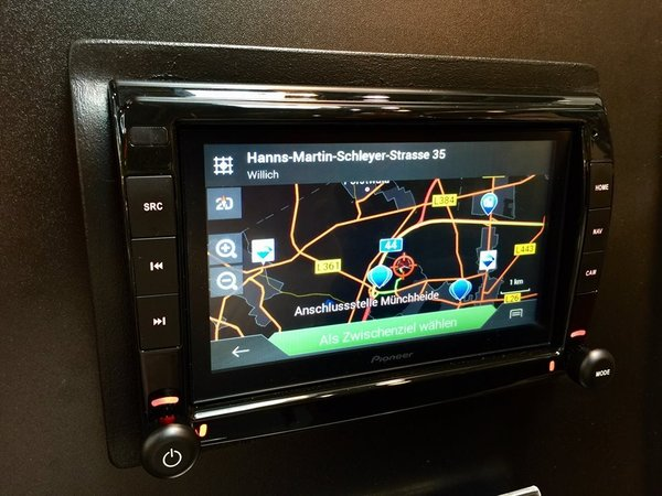 Pioneer AVIC EVO 1 DT2-C-GR DUCATO Wohnmobilversion